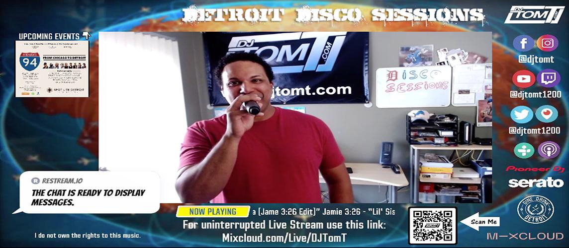 Detroit Disco Sessions - YouTube Slide - 9/28/2021