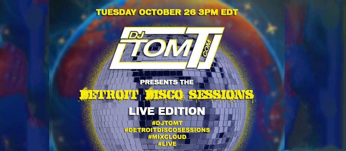 Detroit Disco Sessions - LIVE - 10/26/2021