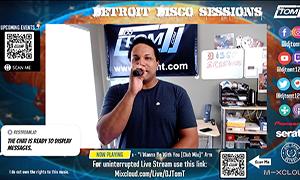 Detroit Disco Sessions – LIVE -8/31/2021